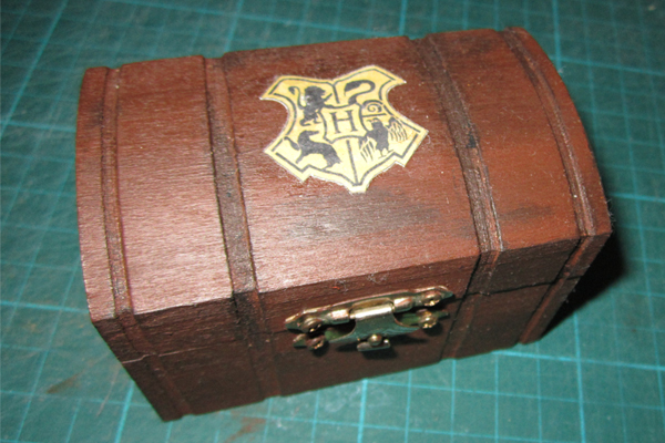 Harry Potter Trunk Inside